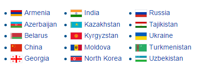 Assessment Level I Countries