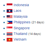 Exemptions for visa to Cambodia